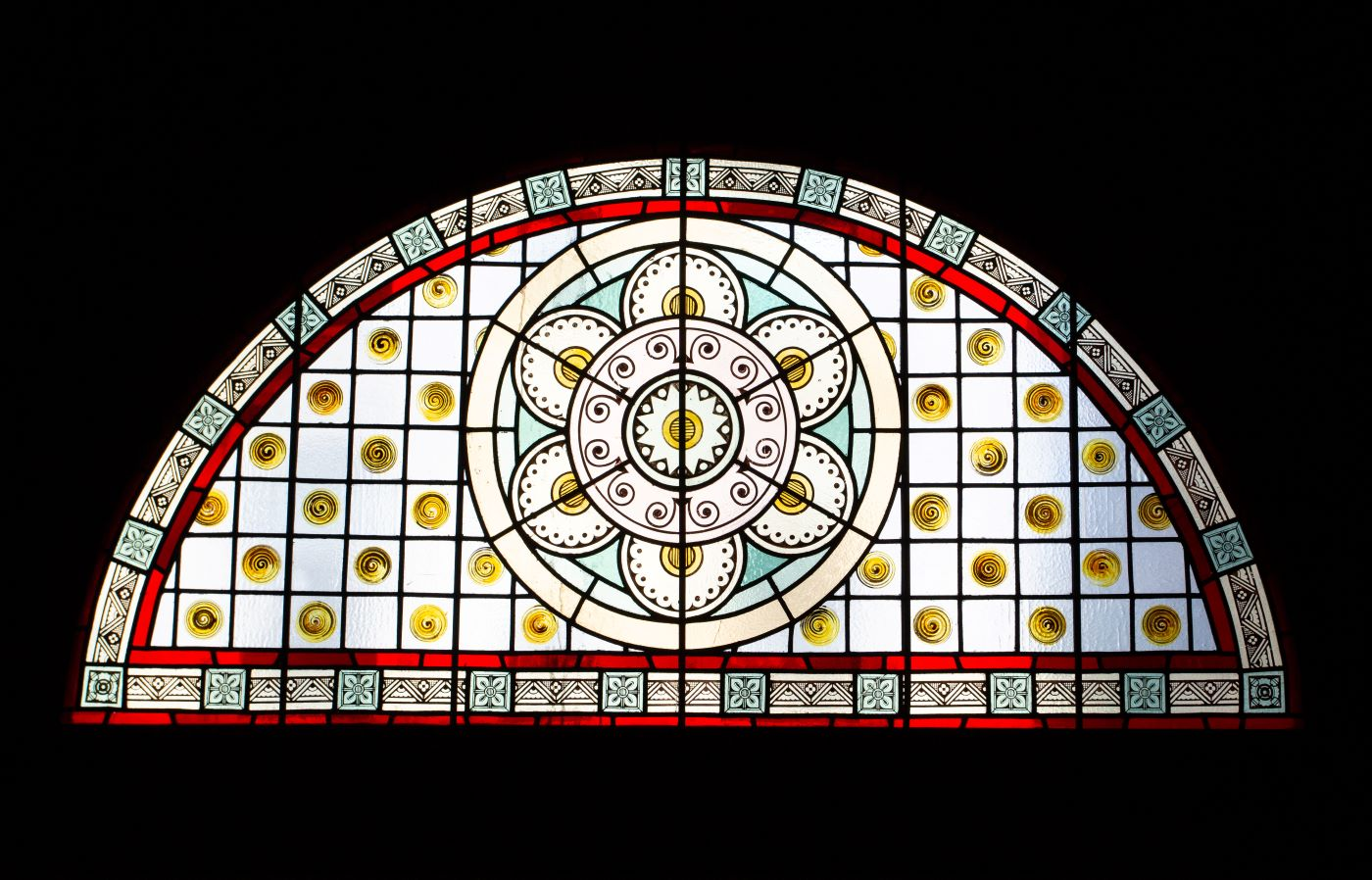 Othmer Library Stained Glass