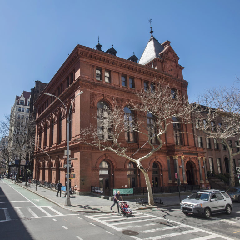 Brooklyn Historical Society's landmarked building on Pierrepont Street in Brooklyn Heights